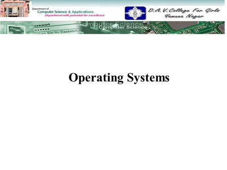 Operating Systems.  Operating System Support Operating System Support  OS As User/Computer Interface OS As User/Computer Interface  OS As Resource.