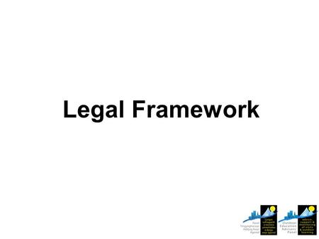 Legal Framework. National guidance and Employer policy/procedures for visits derive from H&S law. Make sure you and your visit leaders are aware of and.