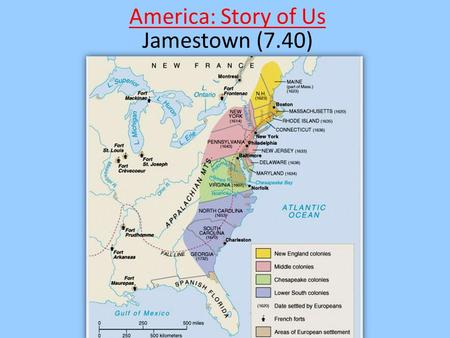America: Story of Us America: Story of Us Jamestown (7.40)