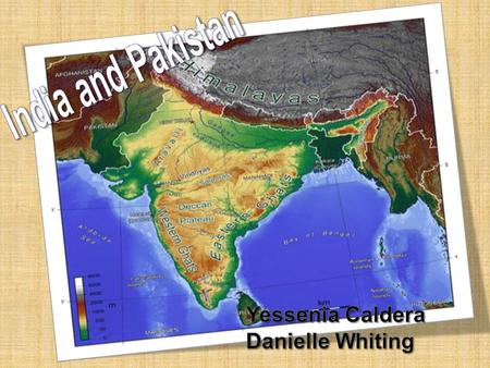 Pakistan:  30°and 0 North Latitude  70°and 0 East Longitude <strong>India</strong>:  6°44 and 35°30 North latitude  68°7 and 97°25 East Longitude.