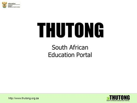 South African Education Portal