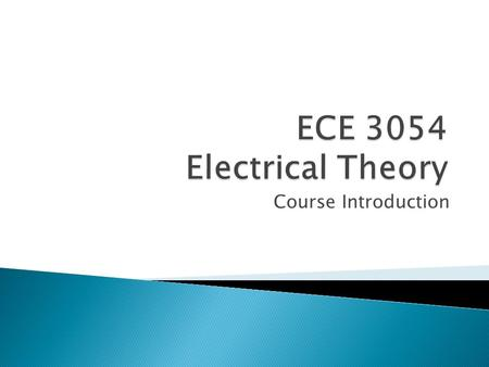 Course Introduction.  Course Instructor: ◦ Dr. Kathleen Meehan ◦ Room 460 Whittemore Hall ◦  ◦ kathleen_meehan (Skype)