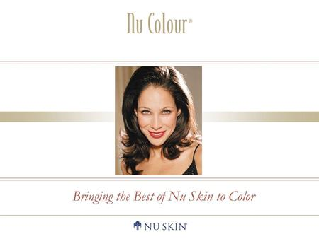 Bringing the Best of Nu Skin to Color. Replenishing LipstickDefining Effects Mascara.