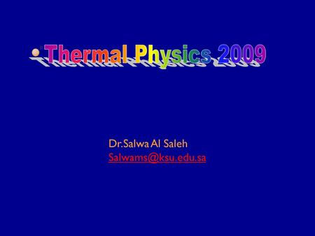 Dr.Salwa Al Saleh Lecture 7 Deviations from Ideality Van Der Waals Equation Virial equations of state Compressibility factor Compressibility.