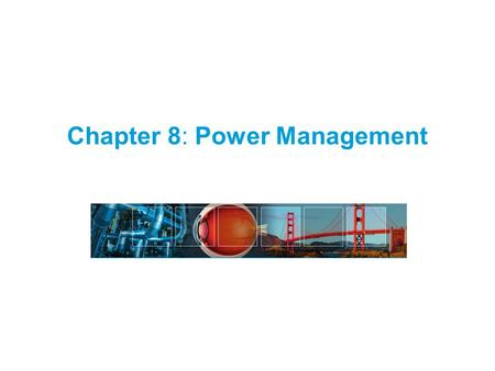 Chapter 8: Power Management. 2 Fundamentals of Wireless Sensor Networks: Theory and Practice Waltenegus Dargie and Christian Poellabauer © 2010 Outline.