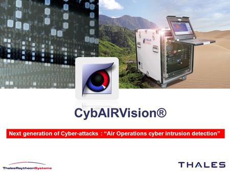 "CybAIRVision® Next generation of Cyber-attacks : ""Air Operations cyber intrusion detection"""