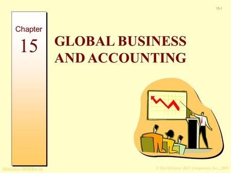 © The McGraw-Hill Companies, Inc., 2005 McGraw-Hill/Irwin 15-1 GLOBAL BUSINESS AND ACCOUNTING Chapter 15.