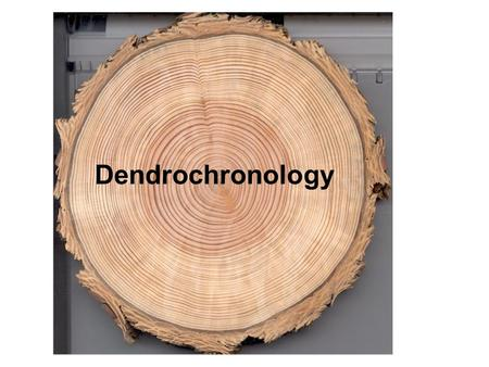 Dendrochronology. What is Dendrochronology? Dendrochronology is the dating and study of annual growth rings in trees. The word comes from these roots: