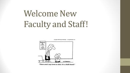 Welcome New Faculty and Staff!. Agenda 1) Introduction and Technology Vision at St. Mary's 2) Who do I contact for tech help? helpdesk websitehelpdesk.