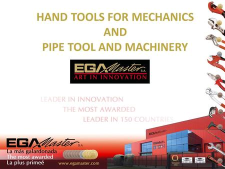 HAND TOOLS FOR MECHANICS AND PIPE TOOL AND MACHINERY.