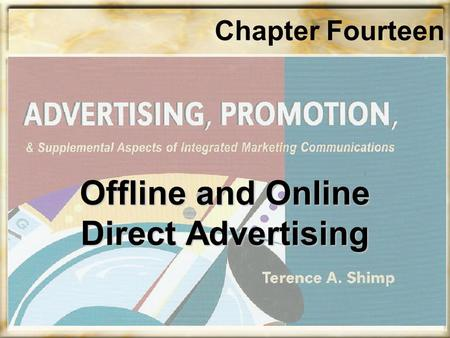 Chapter Fourteen Offline and Online Direct Advertising.