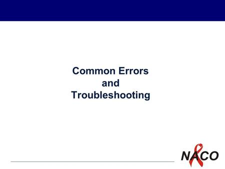 P1 Common Errors and Troubleshooting. P2 Learning Objectives The LT will know the factors responsible for inaccurate results The LT will know the common.