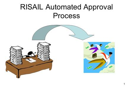 1 RISAIL Automated Approval Process 2 What is the automated approval process? Certain Payment Documents will automatically advance from 4IR (Ready for.