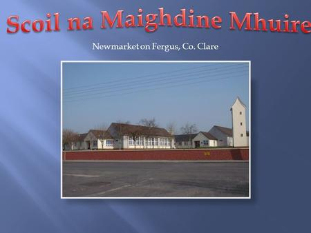 Newmarket on Fergus, Co. Clare. Hurling Camogie Gaelic Football Girls Football.