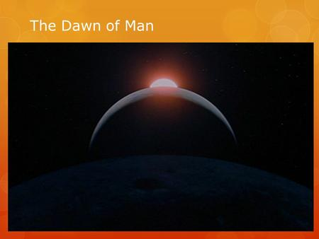 The Dawn of Man. Pre-history  In order to understand the development of human civilizations we need to use several different scientific disciplines.