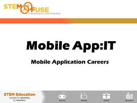 Mobile App:IT Mobile Application Careers. MOBILE PLATFORMS The Internet is full of free websites that teach you how to code - codecademy.comcodecademy.com.