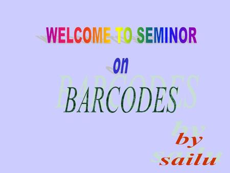 CONTENTS 1.INTRODUCTION 2.TYPES OF BARCODES 3.BARCODE READERS 4.BARCODE SCANNERS 5.BARCODE PRINTERS 6.BARCODE S/W 7.APPLICATIONS OF BARCODES 8.LIMITATIONS.