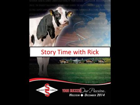 Story Time with Rick. Seeing is Believing…. But do we always believe what we see?