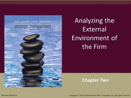 Analyzing the External Environment of the Firm Chapter Two McGraw-Hill/Irwin Copyright © 2012 by The McGraw-Hill Companies, Inc. All rights reserved.