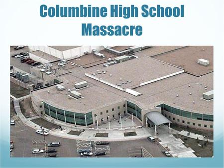 Image result for columbine high school massacre