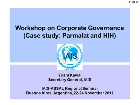 corporate governance a study on