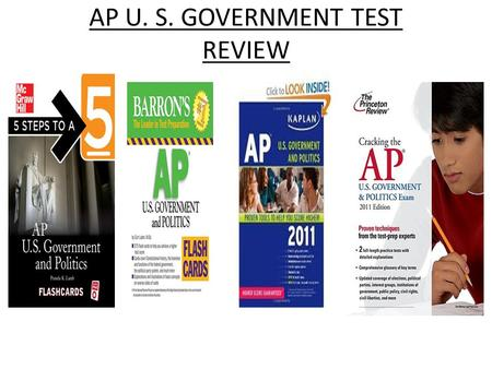 AP U. S. GOVERNMENT TEST REVIEW. Congress Congressional reapportionment and redistricting are conducted every ten years. When redistricting is conducted,