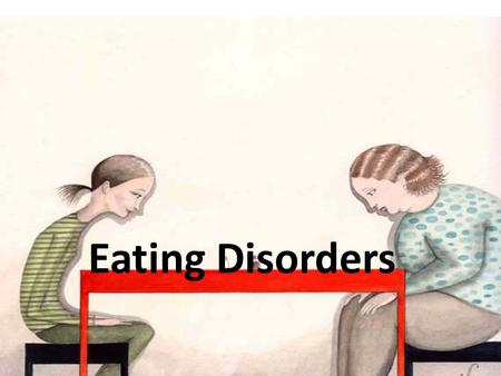 an introduction to the issue of anorexia nervosa an eating disorder in todays society Anorexia nervosa is characterized by a relentless pursuit of thinness, a morbid fear of obesity, a distorted body image, and restriction of intake relative to requirements, leading to a significantly low body weight.