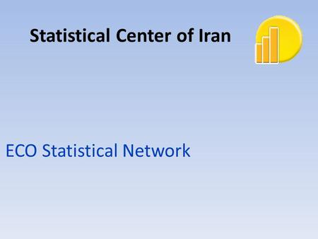 ECO Statistical Network Statistical Center of Iran.