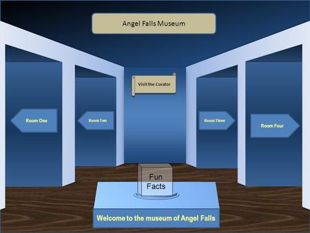 Welcome to the museum of Angel Falls