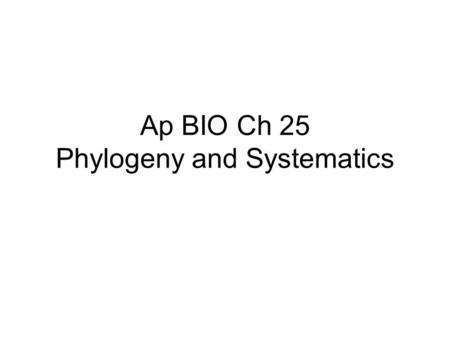 ap biology essay phylogenetic tree Creating phylogenetic trees from dna sequences student worksheet  developed in conjunction on a phylogenetic tree and describe what it represents explain how dna evidence supports the known biology of the.