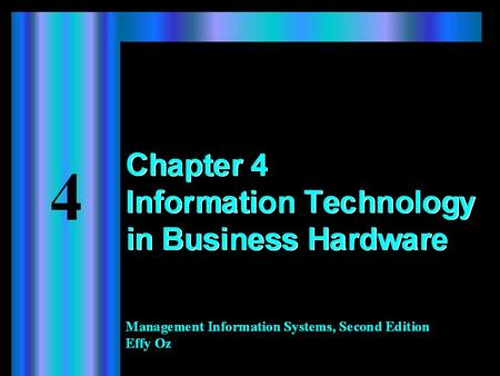 2 Learning Objectives When you finish this chapter, you will:  Recognize major components of an electronic computer.  Understand how the different components.