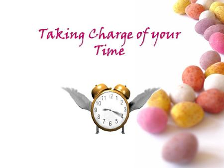 Taking Charge of your Time. # Introduction Time management is about managing your day affectively so you can achieve all that you want to achieve. It.
