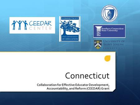 Connecticut Collaboration for Effective Educator Development, Accountability, and Reform (CEEDAR) Grant.