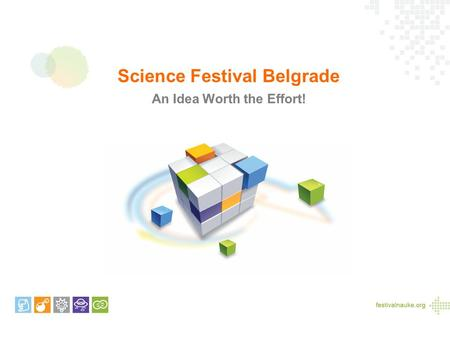 Science Festival Belgrade An Idea Worth the Effort!