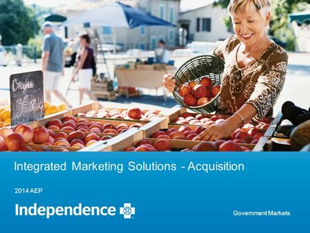 2014 AEP Integrated Marketing Solutions - Acquisition Government Markets.