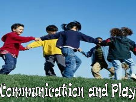 "When it comes to communication development in children, there is a wide range of things that classify ""normal development"" These standards are set in."