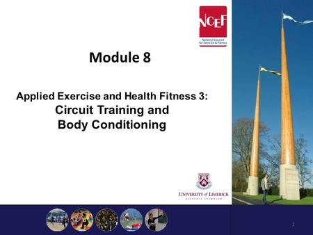 Module 8 Module 91 Applied Exercise and Health Fitness 3: Circuit Training and Body Conditioning.