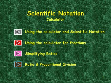 Scientific Notation Calculator