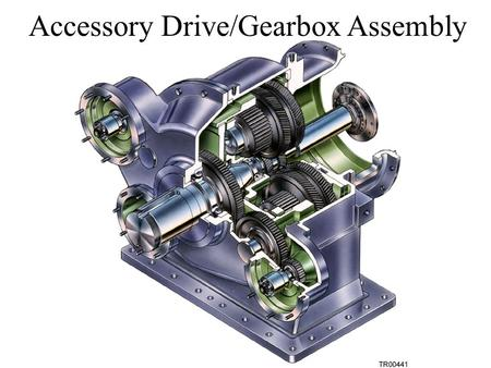 Accessory Drive/Gearbox Assembly T4T4 T3T3 T2T2 n 1 = 400 rpm n 4 = 2000 rpm T1T1 = 100 teeth Find T 4 Gears Law If T = No. of Gear Teeth n = RPM of.