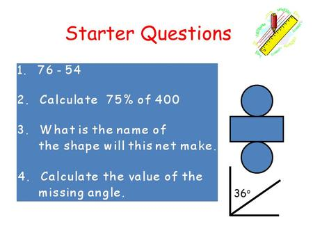 Starter Questions 36 o. Learning Intention To explain how to divide by 20, 300, 4000 etc using our knowledge so far. Whole Numbers Multiply or Divide.
