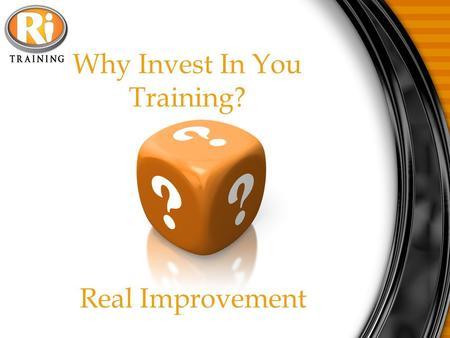 Why Invest In You Training? Real Improvement. THE THREE WAY CALL 1. Set schedule call either using Invest In You or conference call. 2. Let upline or.