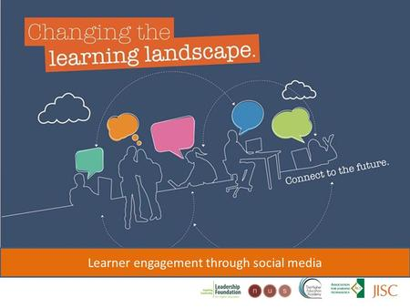 Changing the learning landscape Learner engagement through social media.