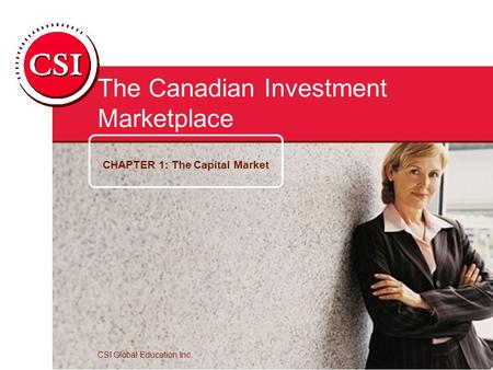 The Canadian Investment Marketplace