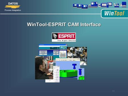 WinTool-ESPRIT CAM Interface