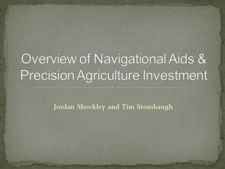 Jordan Shockley and Tim Stombaugh. Losing Popularity Savings of 2-10% Upgradeability.