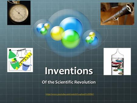 Inventions Of the Scientific Revolution