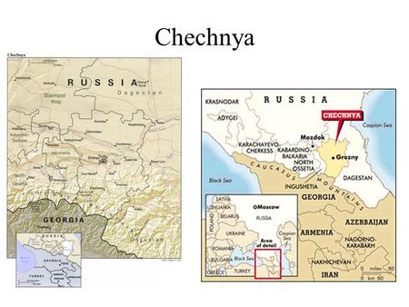 Chechnya. Chechens have lived since ancient times in the foothills and mountain valleys they inhabit today, growing crops and herding livestock. Almost.