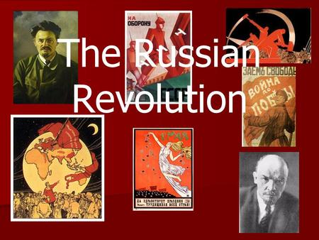 The Russian Revolution. Russia Struggles for Reform Although it started in 1917, it is necessary to go back to at least 1825 to understand the reasons.