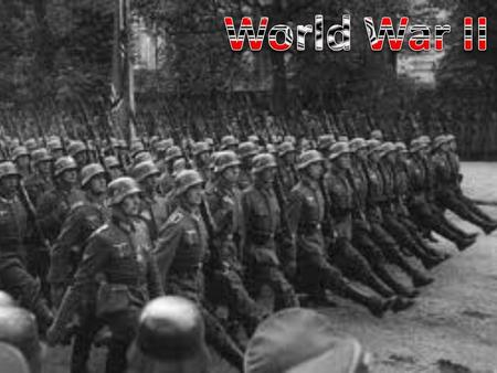 World War II began on September 1, 1939 When Nazi Germany lead by Adolph Hitler invaded Poland  4EAGermany Invades.