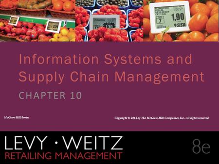 Information Systems and Supply Chain Management